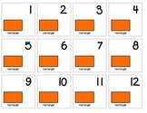 "Calendar Numbers (2.5"" x 2.5"") :: Featuring the RECTANGLE shape"