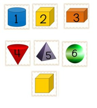 Calendar Numbers: A Year of Learning Shapes