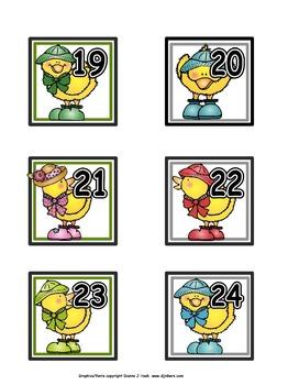 Calendar Numbers: April