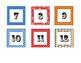 Calendar Numbers Carnival/Circus Theme