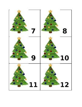 Calendar Numbers (December)