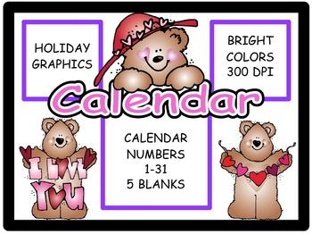 Calendar Numbers: February 1