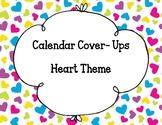 Calendar Numbers- Hearts