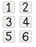 Calendar Numbers & Holidays--Rainbow Alphabet