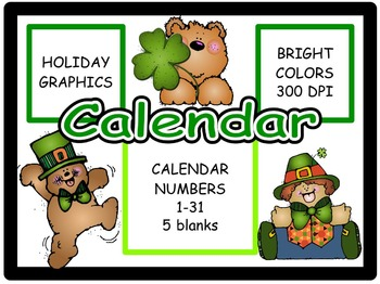 Calendar Numbers: March (2)