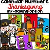 Calendar Numbers November