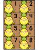 Calendar Numbers: Pineapple, Cactus & Unicorn