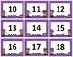 Calendar Numbers~ Purple Polka Dot Detective