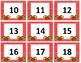 Calendar Numbers~ Red Polka Dot Apples