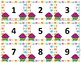 Calendar Numbers~ Seasonal Birthday Cupcake Bundle