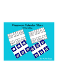 Calendar Numbers - Stars