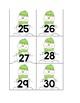Calendar Numbers, Winter Snowman