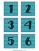 Calendar Numbers and Holidays in Tropical Colors {Editable}