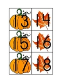 Calendar Numbers for Fall
