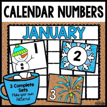 Calendar Numbers for January