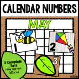 Calendar Numbers for May