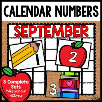 Calendar Numbers for September