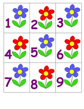 Calendar Numbers for Spring/May
