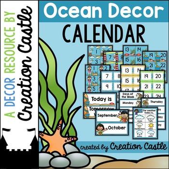 Calendar - Ocean Decor