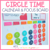 Circle Time Board For Homeschool & Elementary Classrooms