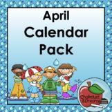 Calendar Pack | April