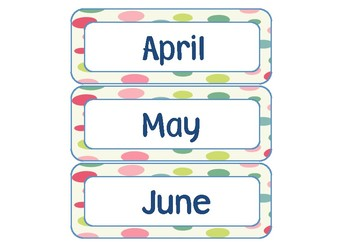 Calendar Pack - Bubbles Theme
