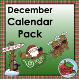 Calendar Pack | December
