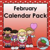 Calendar Pack | February