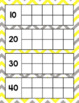 Chevron Calendar Set (Yellow and Gray Chevron)