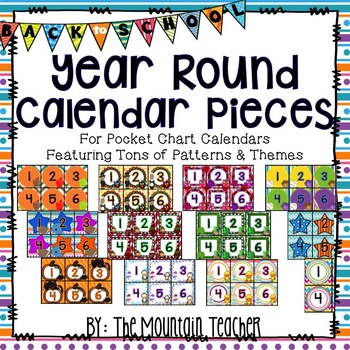 Calendar Pack for Every Month