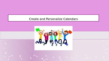 Calendar Packet