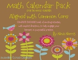Calendar Packet - A Year of Calendar Math aligned with the