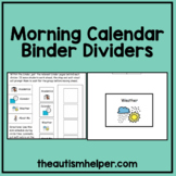 Calendar Packet Visual Dividers