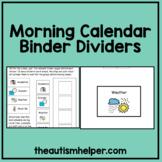 Calendar Packet Visual Dividers