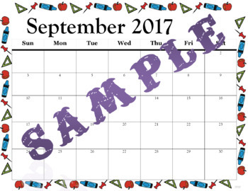 Calendar Page Templates