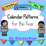 Calendar Patterns for the Year