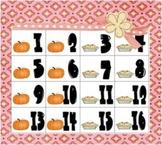 Calendar Piece Patterning AABB Pumpkins & Pies