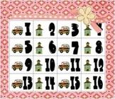 Calendar Piece Patterning AB Schools & Buses