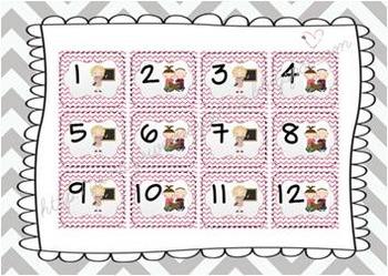 Calendar Pieces AB Pattern - Teacher & Students