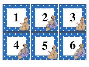 Calendar Pieces - AB pattern