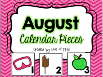 Calendar Pieces BUNDLED