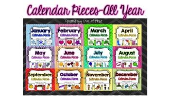 Calendar Pieces BUNDLED
