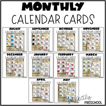 Calendar Cards Bundle Pack