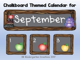 Calendar Pieces Chalkboard Style - Growing Bundle