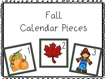 Calendar Pieces: Fall