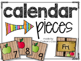 Calendar Pieces -- Fall AB Pattern