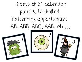 Calendar Pieces: Halloween
