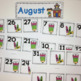 Monthly Patterned Calendar Cards Bundle