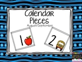 Calendar Pieces- Patterning August/ September
