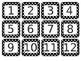 Calendar Pieces - Polka Dot Primary Colors